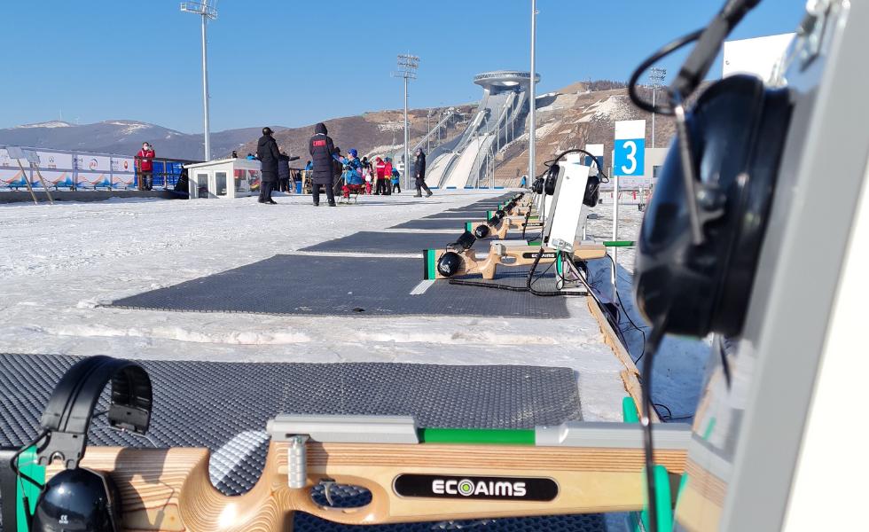 Kurvisen Perheyhtiö valmistaa ja myy elektronisia laitteita elektroniseen ammuntaan Eko-Aims Oy yhtiössään brändillä Ecoaims.