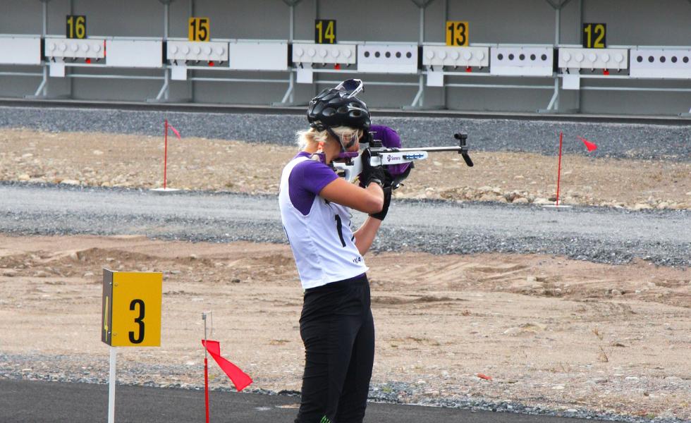 Mari Eder tähtää Suomen Biathlonin valmistamaan ampumahiihtotauluun.